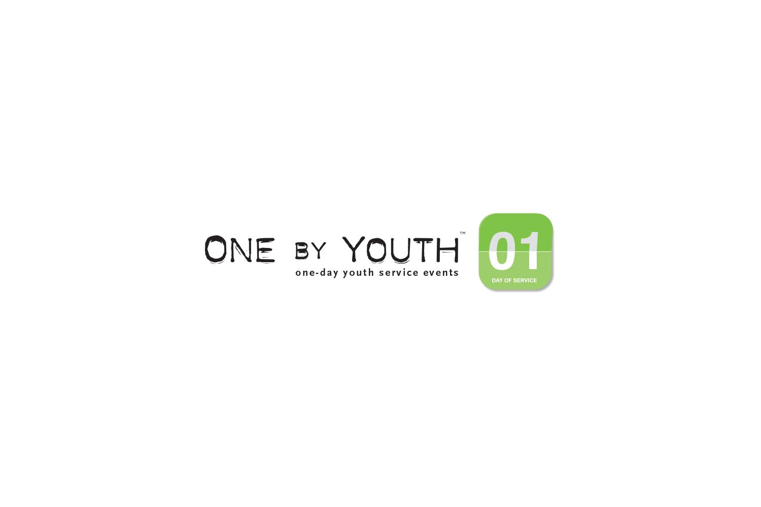 one-by-youth-logo-design