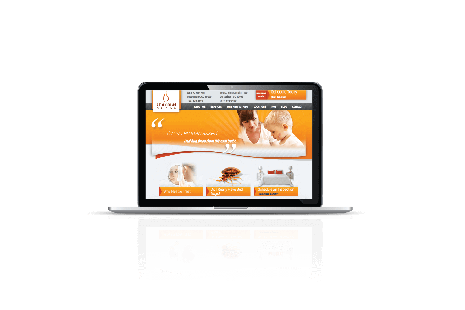 website-development-for-thermal-clean